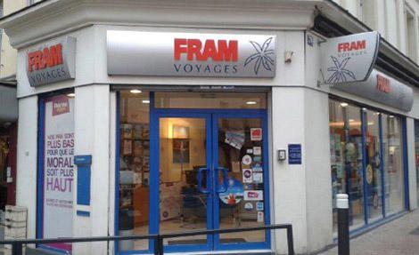 Agence de Voyages FRAM Argenteuil