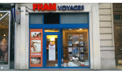 Agence de Voyages FRAM Paris Wagram