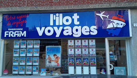 Dom Voyage L'ilot Voyages Amiens