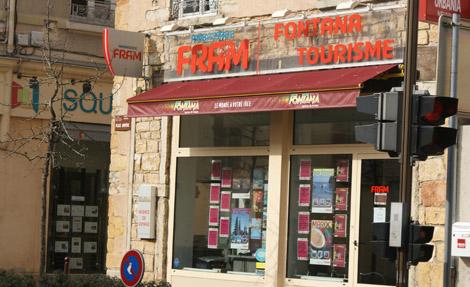 AMBASSADE FRAM Fontana Tourisme Neuville s/Saône