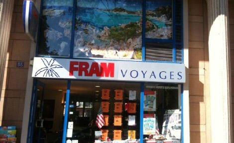 Agence de Voyages FRAM Le Havre