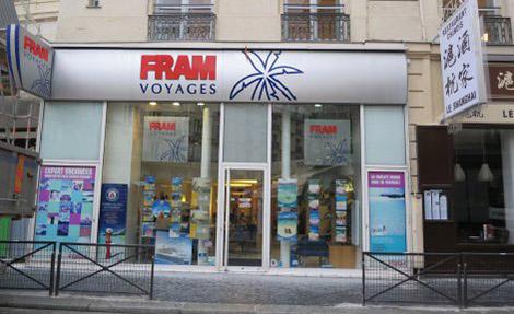 Agence de Voyages FRAM Paris Perrault